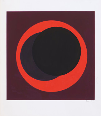 <span class=&#34;artist&#34;><strong>Genevi&#232;ve Claisse</strong></span>, <span class=&#34;title&#34;><em>Cercles</em>, 1968</span>