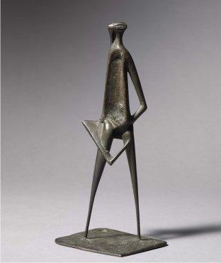 <span class=&#34;artist&#34;><strong>Reg Butler</strong></span>, <span class=&#34;title&#34;><em>Girl with a surfboard</em>, 1948</span>