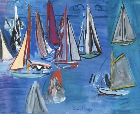 "<span class=""artist""><strong>Raoul Dufy</strong></span>, <span class=""title""><em>Régates</em>, 1925</span>"