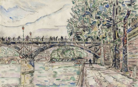 <span class=&#34;artist&#34;><strong>Paul Signac</strong></span>, <span class=&#34;title&#34;><em>Paris. Le Pont des Arts</em>, 1927</span>