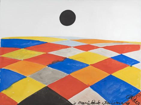 """<span class=""""artist""""><strong>Alexander Calder</strong></span>, <span class=""""title""""><em>Composition</em>, 1969</span>"""