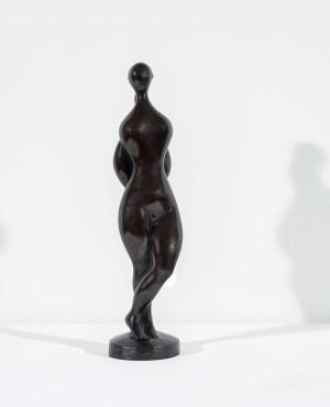 "<span class=""artist""><strong>Baltasar Lobo</strong></span>, <span class=""title""><em>Femme mains au dos</em>, 1988</span>"