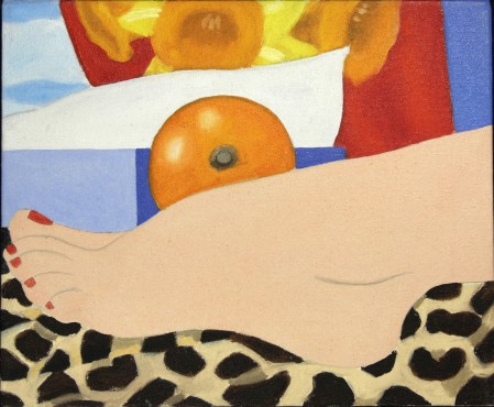 "<span class=""artist""><strong>Tom Wesselmann</strong></span>, <span class=""title""><em>Study for 'Most Beautiful Foot'</em>, 1967</span>"