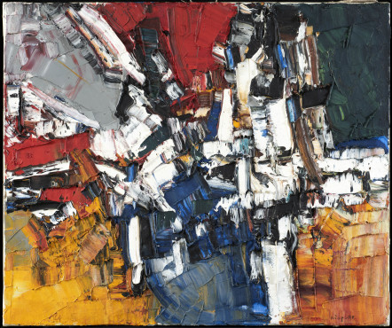 "<span class=""artist""><strong>Jean-Paul Riopelle</strong></span>, <span class=""title""><em>Joute</em>, 1956</span>"