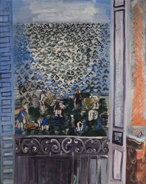 """<span class=""""artist""""><strong>Raoul Dufy</strong></span>, <span class=""""title""""><em>La fenêtre</em>, 1923</span>"""
