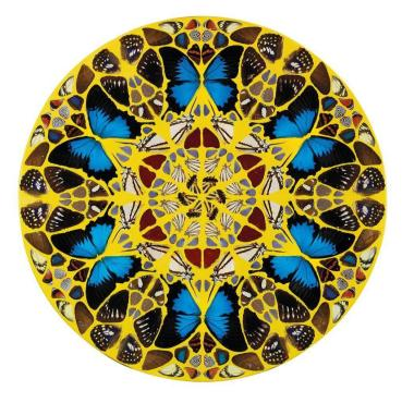 "<span class=""artist""><strong>Damien Hirst</strong></span>, <span class=""title""><em>Psalm 125: Qui confidunt</em>, 2008</span>"