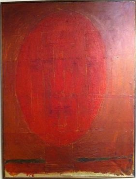 <span class=&#34;artist&#34;><strong>William Turnbull</strong></span>, <span class=&#34;title&#34;><em>Self-portrait</em>, 1954-55</span>
