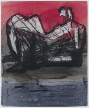 "<span class=""artist""><strong>Henry Moore</strong></span>, <span class=""title""><em>Reclining Figure</em>, 1961</span>"