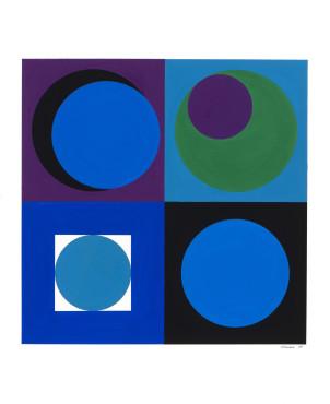 <span class=&#34;artist&#34;><strong>Genevi&#232;ve Claisse</strong></span>, <span class=&#34;title&#34;><em>Universaux III</em>, 1967</span>