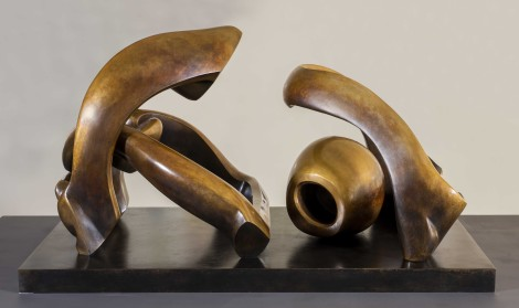 """<span class=""""artist""""><strong>Henry Moore</strong></span>, <span class=""""title""""><em>Working Model for Hill Arches</em>, 1972</span>"""