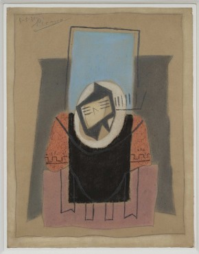 <span class=&#34;artist&#34;><strong>Pablo Picasso</strong></span>, <span class=&#34;title&#34;><em>Guitare sur une table</em>, 1921</span>
