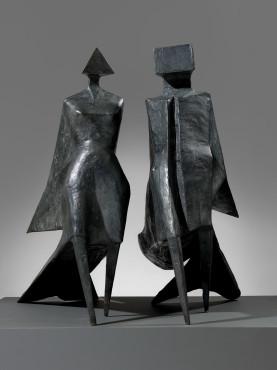 "<span class=""artist""><strong>Lynn Chadwick</strong></span>, <span class=""title""><em>Maquette III, Jubilee III</em>, 1984</span>"