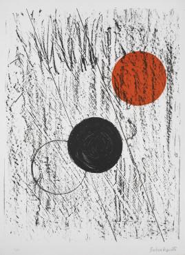 "<span class=""artist""><strong>Barbara Hepworth</strong></span>, <span class=""title""><em>Sun and Moon</em>, 1969</span>"