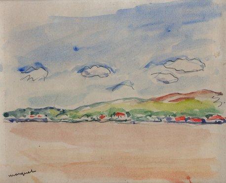 <span class=&#34;artist&#34;><strong>Albert Marquet</strong></span>, <span class=&#34;title&#34;><em>Maisons au bord du Danube</em>, 1933</span>