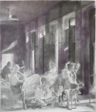 "<span class=""artist""><strong>Simon Edmondson</strong></span>, <span class=""title""><em>Drawing No.7</em>, 2018</span>"