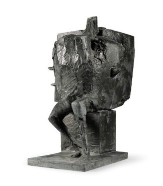 <span class=&#34;artist&#34;><strong>Bernard Meadows</strong></span>, <span class=&#34;title&#34;><em>Seated armed figure: Personnage Tres Important</em>, 1962</span>