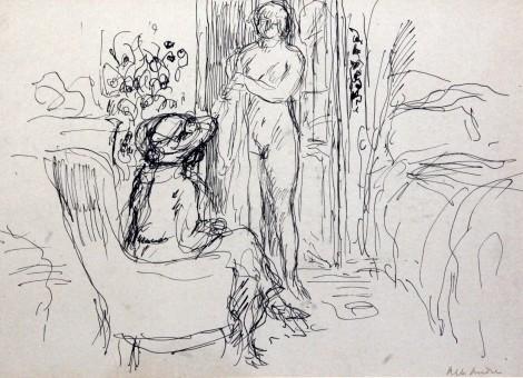 <span class=&#34;artist&#34;><strong>Albert Andre</strong></span>, <span class=&#34;title&#34;><em>Nu dans un interieur</em></span>