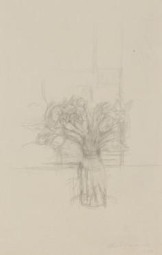 "<span class=""artist""><strong>Alberto Giacometti</strong></span>, <span class=""title""><em>Nature morte aux fleurs</em>, 1954</span>"