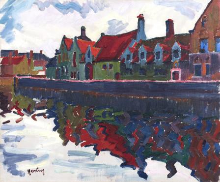 <span class=&#34;artist&#34;><strong>Auguste Herbin</strong></span>, <span class=&#34;title&#34;><em>Maisons au Quai Vert, Bruges</em>, 1906</span>