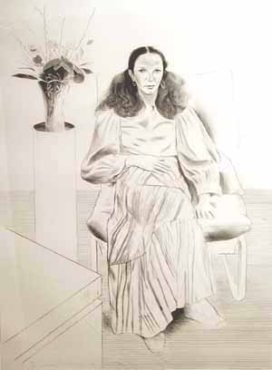 <span class=&#34;artist&#34;><strong>David Hockney</strong></span>, <span class=&#34;title&#34;><em>Brooke Hopper</em>, 1976</span>