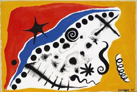 "<span class=""artist""><strong>Alexander Calder</strong></span>, <span class=""title""><em>Dots along the Blue</em>, 1963</span>"