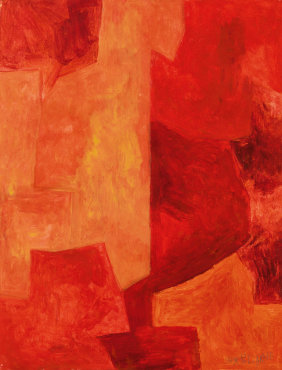 """<span class=""""artist""""><strong>Serge Poliakoff</strong></span>, <span class=""""title""""><em>Composition</em>, c. 1961-62</span>"""
