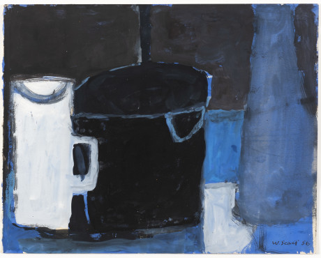 "<span class=""artist""><strong>William Scott</strong></span>, <span class=""title"">Untitled, 1956</span>"