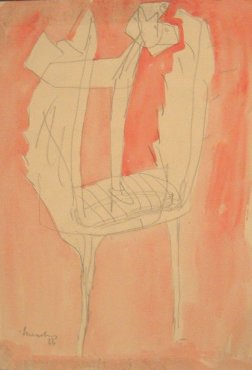 <span class=&#34;artist&#34;><strong>Bernard Meadows</strong></span>, <span class=&#34;title&#34;><em>Drawing for sculpture</em>, 1956</span>