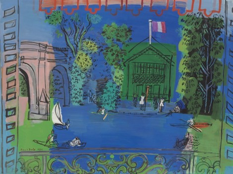 "<span class=""artist""><strong>Raoul Dufy</strong></span>, <span class=""title""><em>Nogent-sur-Marne</em>, 1934</span>"