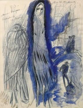 "<span class=""artist""><strong>Kees van Dongen</strong></span>, <span class=""title""><em>Etude for 'Rio des Mendiant'</em>, 1921</span>"