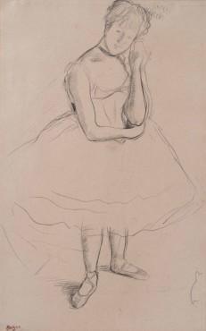 <span class=&#34;artist&#34;><strong>Edgar Degas</strong></span>, <span class=&#34;title&#34;><em>Danseuse</em>, c.1875-1880</span>