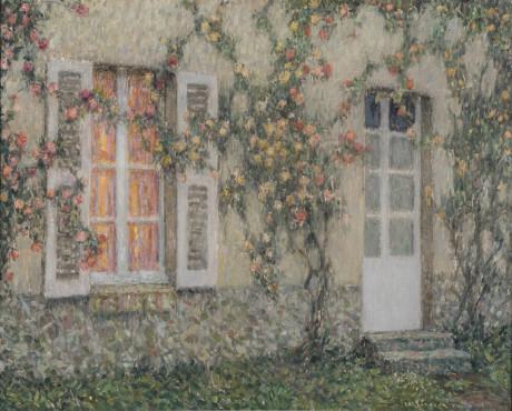 <span class=&#34;artist&#34;><strong>Henri Le Sidaner</strong></span>, <span class=&#34;title&#34;><em>La maison aux roses, Versailles</em>, c.1931 - 1936</span>