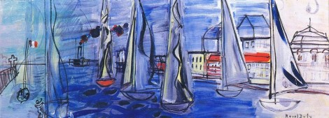 <span class=&#34;artist&#34;><strong>Raoul Dufy</strong></span>, <span class=&#34;title&#34;><em>R&#233;gates &#224; Deauville</em>, c.1945</span>