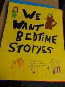 Bring Back Bedtime Stories! One school's campaign to get kids reading