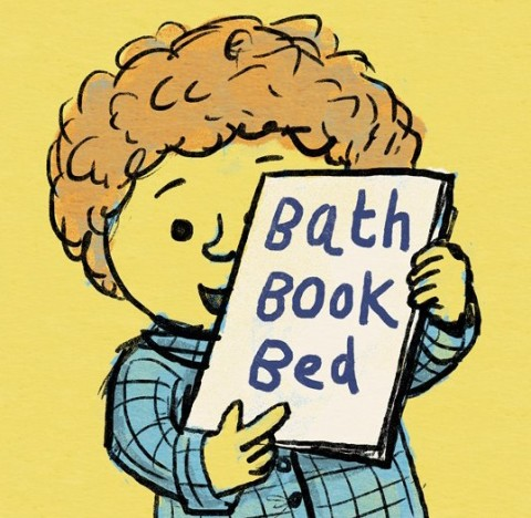 See Bath, Book, Bed come to life in these gorgeous illustrations