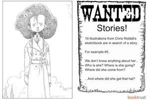 Have some fun: Chris Riddell's illustrations in search of a story