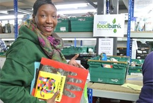 Birmingham food bank hands out children's books for Christmas