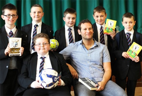 How football can inspire children to read more