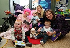 The Belfast babies who will now get new books for free
