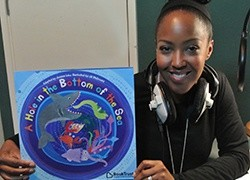 Angellica Bell creates an interactive storybook with BookTrust