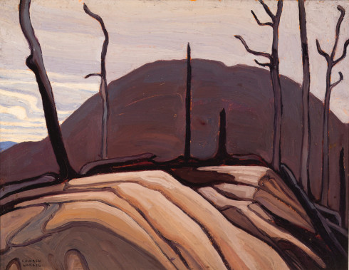 Lawren S. Harris, C.C., LL.D., Rock and Hill (Lake Superior Sketch CXXXII), 1922