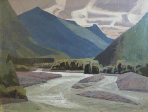 <span class=%22title%22>Nusatsum River, Bella Coola Valley B.C. (Rushing Mountain Stream)</span>