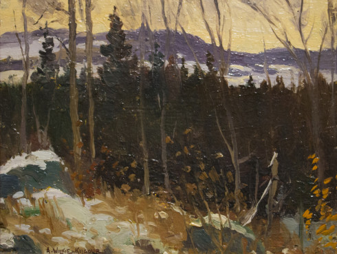 <span class=%22title%22>Late winter, Morin Heights</span>