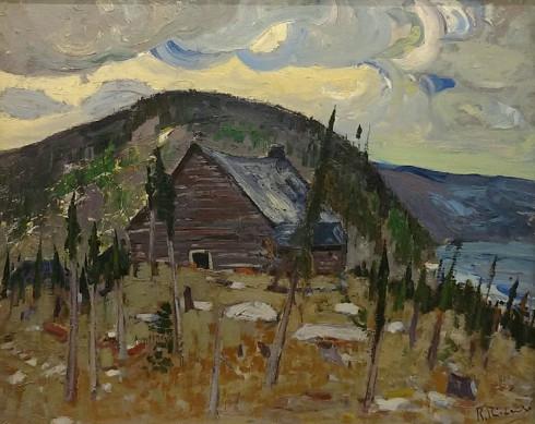 René Richard, R.C.A., Le Vieux Trading-Post, c. 1943