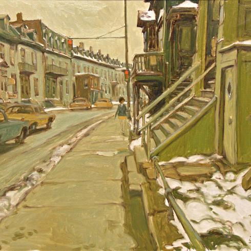 John Little - City Life from 1951-Toronto
