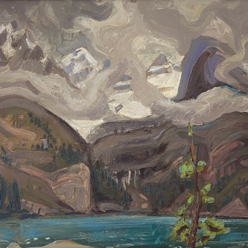 Arthur Lismer's only sketching trip to the Rockies left an extraordinary and powerful legacy