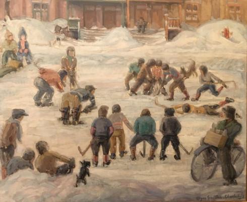 Alyne Gauthier-Charlebois, Street Hockey - Hockey de ruelle, 1941