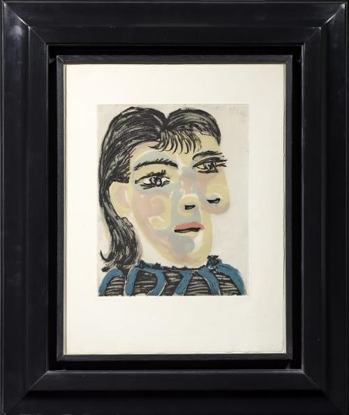 Pablo Picasso, Tête de femme n° 2 (Portrait of Dora Maar), 1939