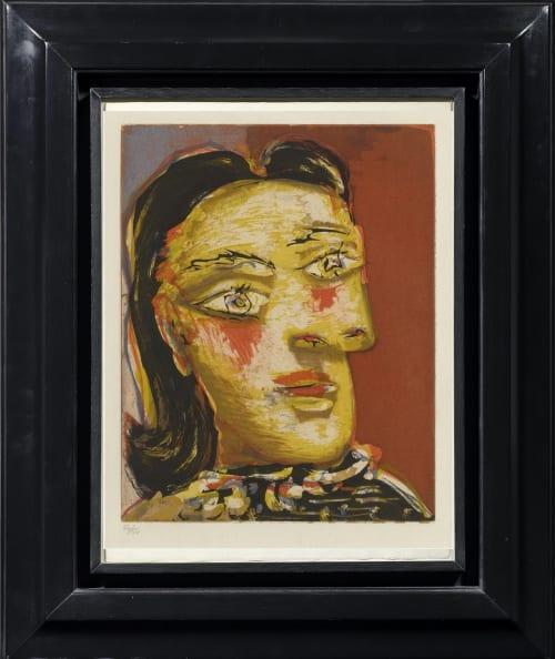 Pablo Picasso, Tête de femme n° 4 (Portrait of Dora Maar), 1939