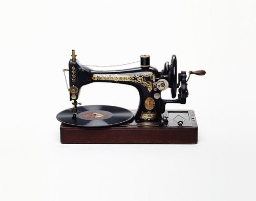 Sewing Machine with Record, 2012